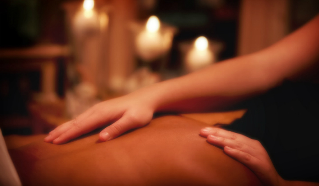 Русские фото массаж